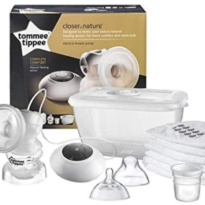 Tommee Tippee Closer To Nature Electric Breast Pump – White