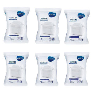 Brita Maxtra+ Water Filter Cartridges - White (Pack of 6)