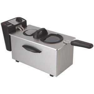 Igenix 3.5L Stainless Steel 2kW Deep Fat Chip Fryer, 1kg Food Capacity - IG8035