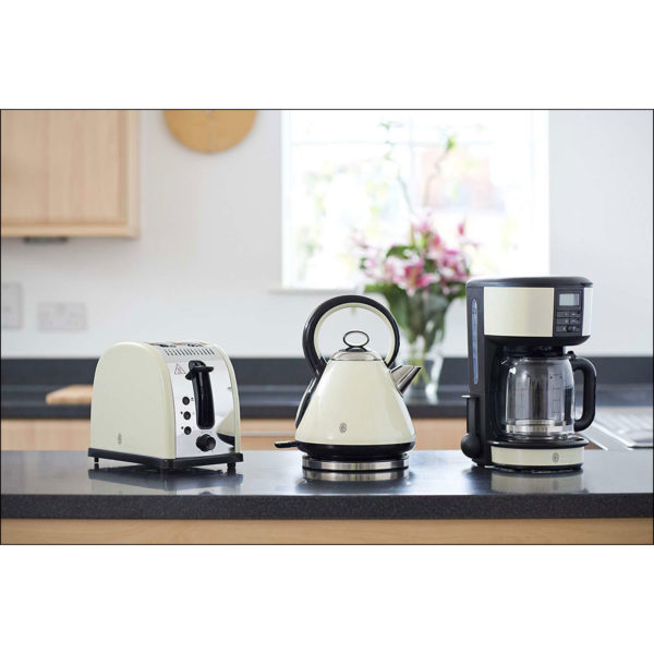 Russell Hobbs 20683 Legacy Coffee Maker, 1.25 L - Cream
