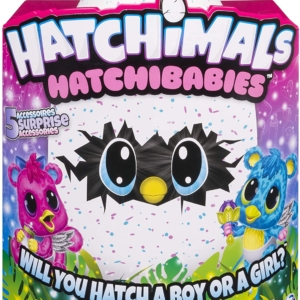 Hatchimals HatchiBabies Cheetree – Hatching Egg with Interactive Pet Baby