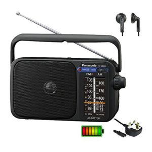 Panasonic RF-2400D Digital AM/FM Portable Radio AC/DC