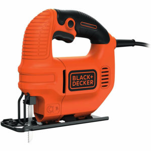 Black & Decker 400W Compact Jigsaw With Blade