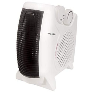 Infapower Dual Position Fan Heater - White