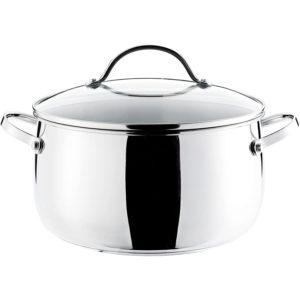 Prestige Bell Stainless Steel 24 cm Stockpot - Silver