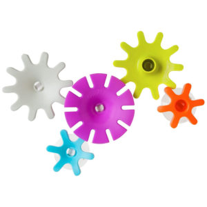Tomy Boon COGS Baby Bath Toy Bath Accessories for Babies & Toddlers – Multicolour