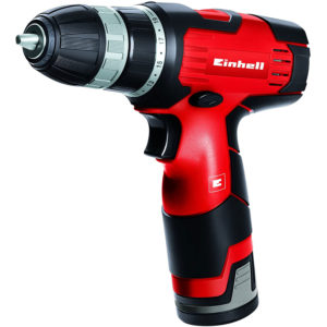 Einhell 12V Cordless Drill Driver - Black And Red