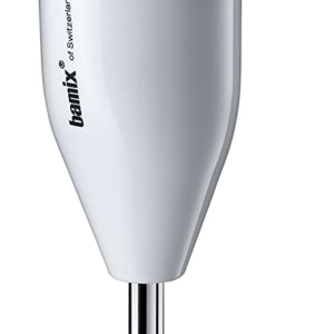 Bamix Classic Food Processor Hand Blender Stainless Steel 160 W – White