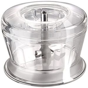 Bamix Dry Mill Food Grinder Machine With Removable Blade – Clear