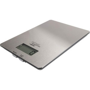 Wahl James Martin LCD Digital Display Electronic Kitchen Scales – Stainless Steel