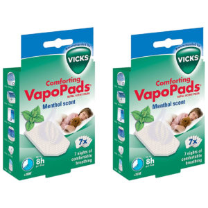 Vicks Comforting Soothing Menthol VapoPads pack of 7