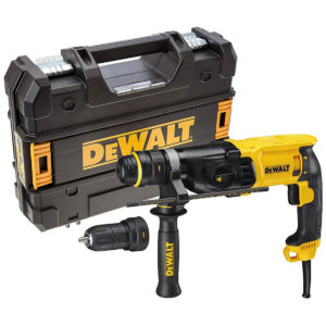 Dewalt 26mm 3 Mode SDS Plus Hammer Drill With Quick Change Chuck – 110 V