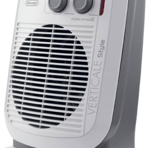 Delonghi Vertical Style Upright Fan Heater 2200 W – White/Grey