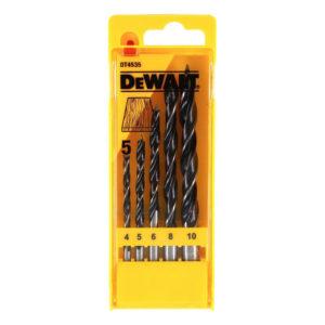 Dewalt Brad Point Drill Bit Set - 5 Piece
