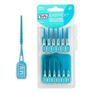 Tepe Easy Pick Interdental Brush M/L 36pcs - Blue