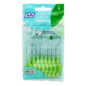 TePe Interdental Brushes Size 5 Medium 0.8mm – 8 Brushes Pack