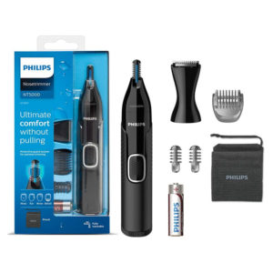 Philips Nose Hair Trimmer Series 5000 Nose, Ear And Eyebrow Trimmer