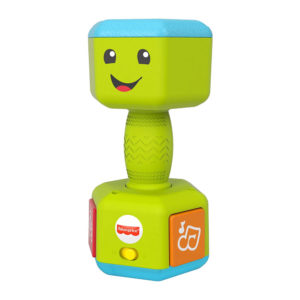 Fisher-Price Laugh & Learn Countin Reps Dumbbell – Multicolor