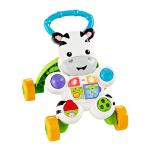 Fisher-Price Learn With Me Zebra Baby Walker With Music And Sounds – Multicolor