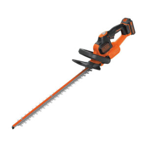 Black & Decker 18V Cordless Hedge Trimmer With 2.0Ah Lithium Ion Battery