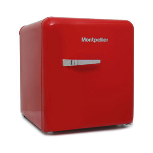 Montpellier Table Top Retro Fridge – Red