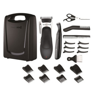 Remington Stylist Hair Clippers And Detail Trimmer 25 Piece Grooming Kit
