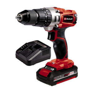 Einhell TE-CD 18/44 Li-i Power X-Change Cordless Impact Drill 1 x 1.5 Ah Battery and Charger