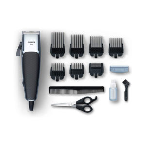 Philips Series 5000 Professional Hair Clipper And Beard Trimmer Durable Linear Motor with Adjustable Blades and Close Precision
