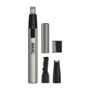 Wahl Lithium Ion Micro Finisher Detailer Face Ears Nose Eyebrow Hair Trimmer - 5640-1017