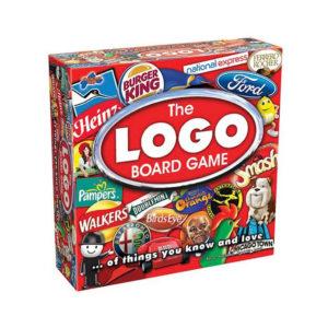 Drumond Park The LOGO Family Board Game Trivia Quiz - Multicolour