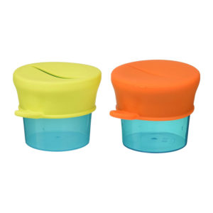 Tomy Boon SNUG Stretchy Silicone Lids And Baby Food Storage Containers – Multicolour