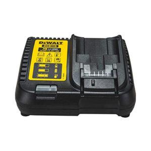 Dewalt XR Multi Voltage 4A 10.8V, 14.4V & 18V Li-Ion Battery Charger 230 V - Black/Yellow