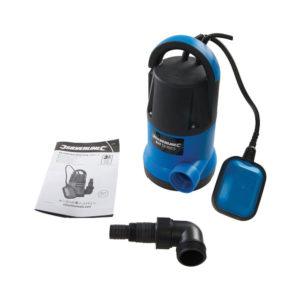 Silverline 250W DIY Clean Water Pump Plastic - Multicolour