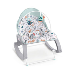 Fisher-Price Deluxe Infant-To-Toddler Rocker - Multicolour