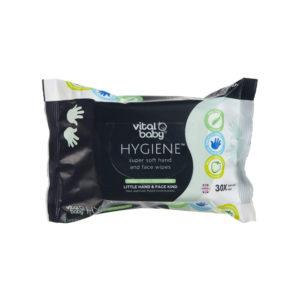 Vital Baby HYGIENE Super Soft Hand & Face Fresh Fruity Fragrance 30 Wipes