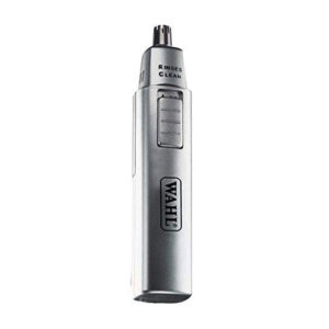 Wahl  Ear, Nose & Eye Brow Wet/Dry Rinseable Personal Trimmer  – 5560-500