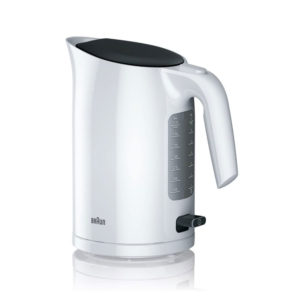 Braun PurEase Serie 3 Electric Jug Kettles Plastic 3000 W 1.7 Litres – White