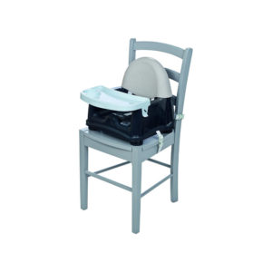 Safety 1st Swing Tray Booster Seat – Grey Patches