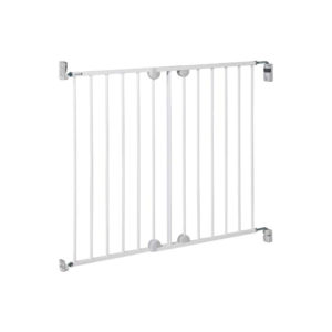 Safety 1st Wall Fix Extending Wide Safety Metal Gate 62 To 102 cm -White