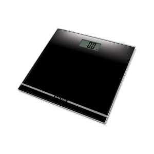 Salter Electronic Large Display Digital Bathroom Scales, Slim Black