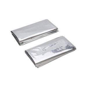 Silverline Emergency Foil Blankets – Set of 2
