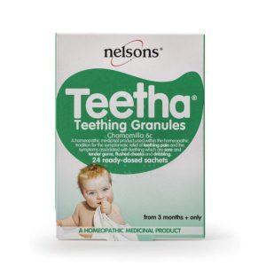 Nelsons Baby Teetha Teething Granules 24 Ready – Dosed Sachets