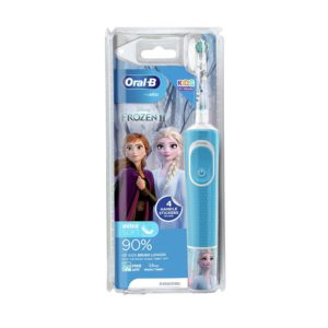 Oral B Stages Power Disney Frozen Characters Kids Electric Rechargeable Toothbrush – Blue