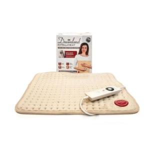 Dreamland Intelliheat Fast Heat Multi Purpose Heatpad Polyester 110 W – Natural/Beige