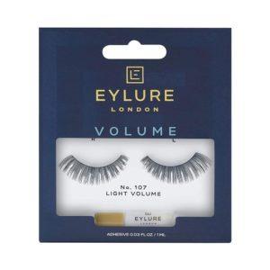 Eylure London Volume No 107 Naturalites Evening Wear Angled Lash Lashes Adhesive – Black