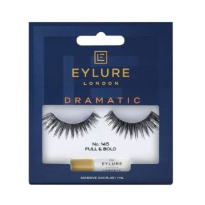 Eylure Naturalite Intense Exaggerate False Strip Lashes No. 145 – Black