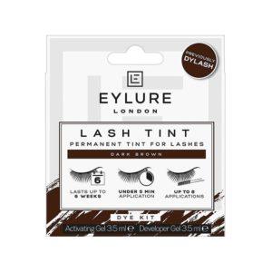 Eylure Pro Dylash Lash Dark Brown Dye Kit Permanent Tint For Lashes