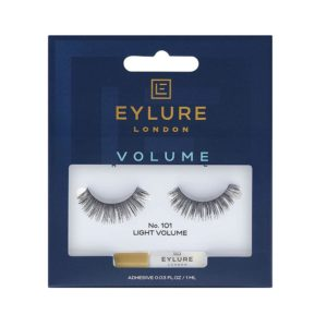 Eylure Naturalites Evening Wear Strip Eyelashes No.101 Light Volume Medium – Black