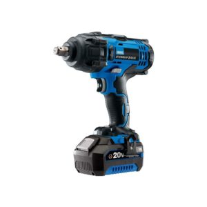 Draper Storm Force 20 V Mid-Torque Impact Wrench 1/2 Inch 400Nm with 1 X 4Ah Battery And Charger