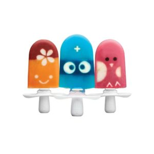 Zoku Quick Pop Character Kit Stencils And Faces Kit For Ice Pops – Multicolour